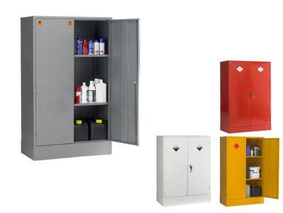 Double Door 2 Shelf COSHH Hazardous Storage Cabinets