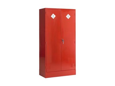 Double Door 2 Shelf Pesticide Storage Cabinet