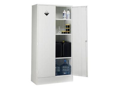 Double Door 3 Shelf Acid Storage Cabinets