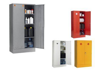 Double Door 3 Shelf COSHH Hazardous Storage Cabinets
