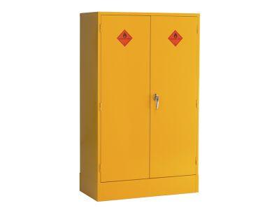 Double Door 3 Shelf Flammable Liquid Storage Cabinet