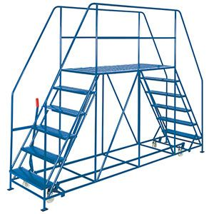 Double ended Access Platform 5 tread inc platform