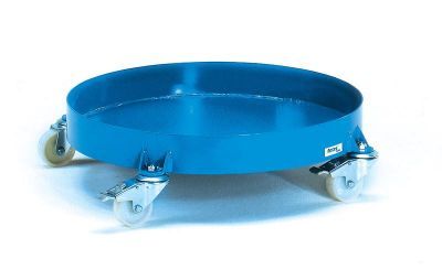 Fetra Drum dolly with with solid base
