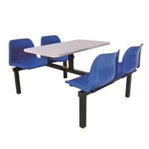 Fast Food Seating Unit - 2 Seater