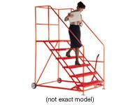 Easy Slope Safety Steps, 8 treads
