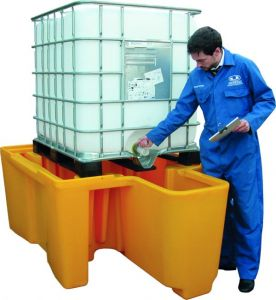 Fosse spill pallet IBC - sump capacity 1250L