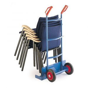 Economy Chair Carrier Trolley, cushion tyres,