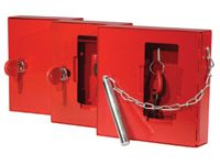 Emergency Key Cabinets - Solid and Glass Fronted