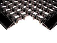 Entramat Std cross ribbed entrance mat 1.5x1.0