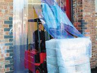 External Door PVC strip Curtain 2.50m max Height