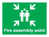 Extra Large Fire Assembly Point Signs