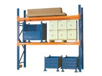 Extra level Stronglock Pallet Racking 1350mm long