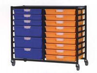 Extra Wide Tray Double Shelving System 1035mm H