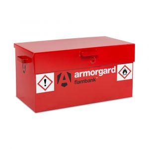 Flambank Hazardous Storage Boxes with Tested Sump Bases