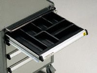 Fixed plastic Drawer Dividers 50mm high