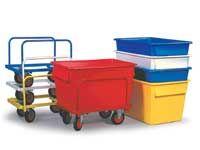 Food Grade Rectangular Polyethylene Truck & Chassis