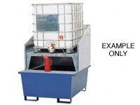Forkliftable Galvanised IBC Sump Pallets