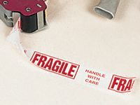 Fragile Printed Adhesive Packing Tape