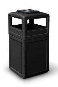 Freestanding cigarette bin