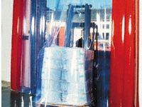Freezer Doorway PVC strip Curtain 5.5m max Height