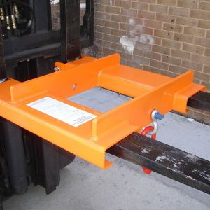 Heavy Duty Forklift Adjustable Hook - 2000kg SWL