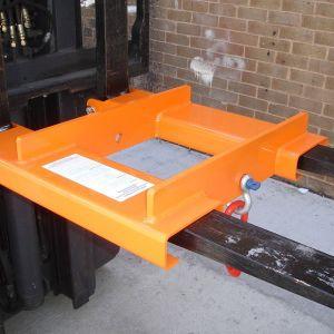 Heavy Duty Forklift Adjustable Hook, 4000kg SWL