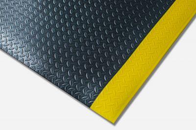 Kumfi Diamond Anti-Fatigue Black and Yellow Matting