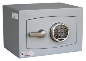 Mini Vaults Silver Complete With Electronic Lock