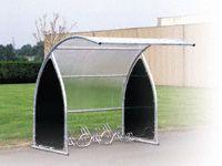 Modular Cycle Shelter