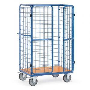 Fetra Parcel Cart with Bolt-Lock Doors 1800x1000x700