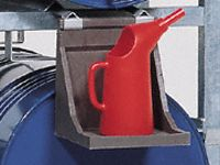 Enpac Polyethylene Dispenser Tray for support of cans