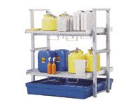 Small Container Stackable Rack Kit & Polysafe Sump
