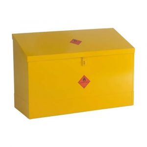 Flammable Storage Flat & Sloping Top Bins