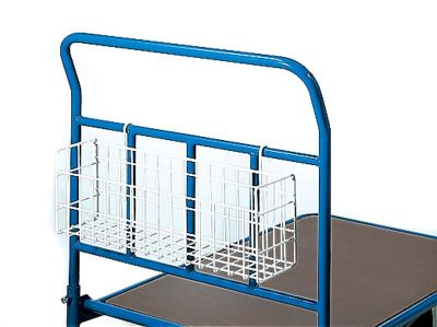 Wire Basket accessory for Modular Trolleys