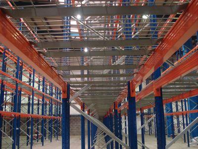 Heavy Duty 1500kg Capacity Pallet Racking Wire Mesh Deck Panel - 1100D x 1118W