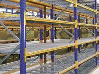 Heavy Duty 1500kg Capacity Wire Mesh Pallet Racking Deck Panel - 1110mm x 1320mm