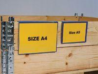 Wooden Case Pockets - A4