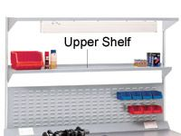 Workbench accessory - 1800mm upper shelf ESD laminate