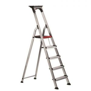 Professional step ladders 3 tread platform 616mm