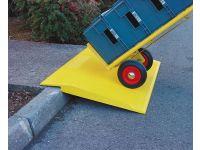 Safe kerb ramp