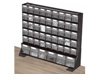 497mm H Bott Bench Storage Rack c/w Storage Compartments