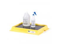 Enpac Polyurethane laboratory workbench spill tray