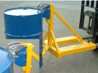 Forklift Rim Grip Drum Handler, 1 drum For Forklift
