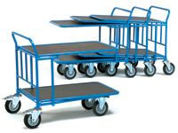 Fetra Cash and Carry Trolley double deck 850x500mm L x W