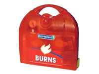 Compact burns first aid kit refill