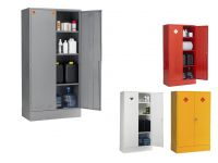 Double Door 3 Shelf COSHH Hazardous Storage Cabinets