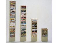 Durham mfg 11 - pocket steel vertical literature rack