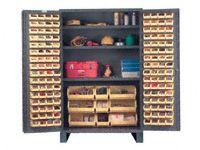 Durham mfg JC-137 Jumbo Storage Cabinet including 137 Hook-On Bins