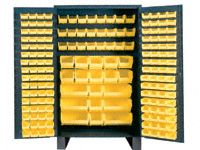 Durham mfg JC-171 Jumbo Storage Cabinet including 171 Hook-On Bins