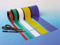Easy Wipe Magnetic Racking Strips - 10 to 100mm High